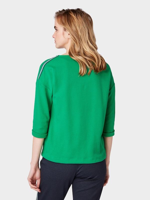 Sweat En Vert Tom Tailor shirt VpqSMUGz
