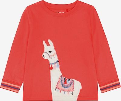 STACCATO Sweatshirt 'Lama' in mischfarben / orangerot, Produktansicht