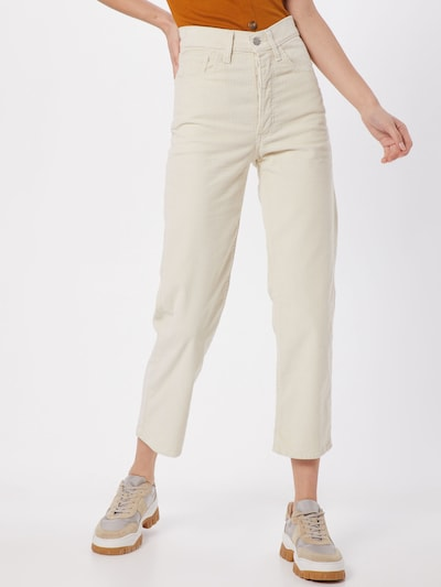 LEVI'S Jeansy 'RIBCAGE' w kolorze kremowym: Widok z przodu