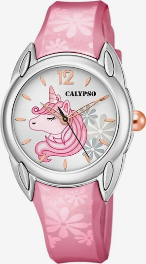CALYPSO WATCHES Uhr 'Sweet Time' in rosa / silber, Produktansicht