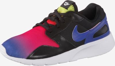 Nike Sportswear Sneaker 'Kaishi' in gelb / lila / pink / schwarz: Frontalansicht