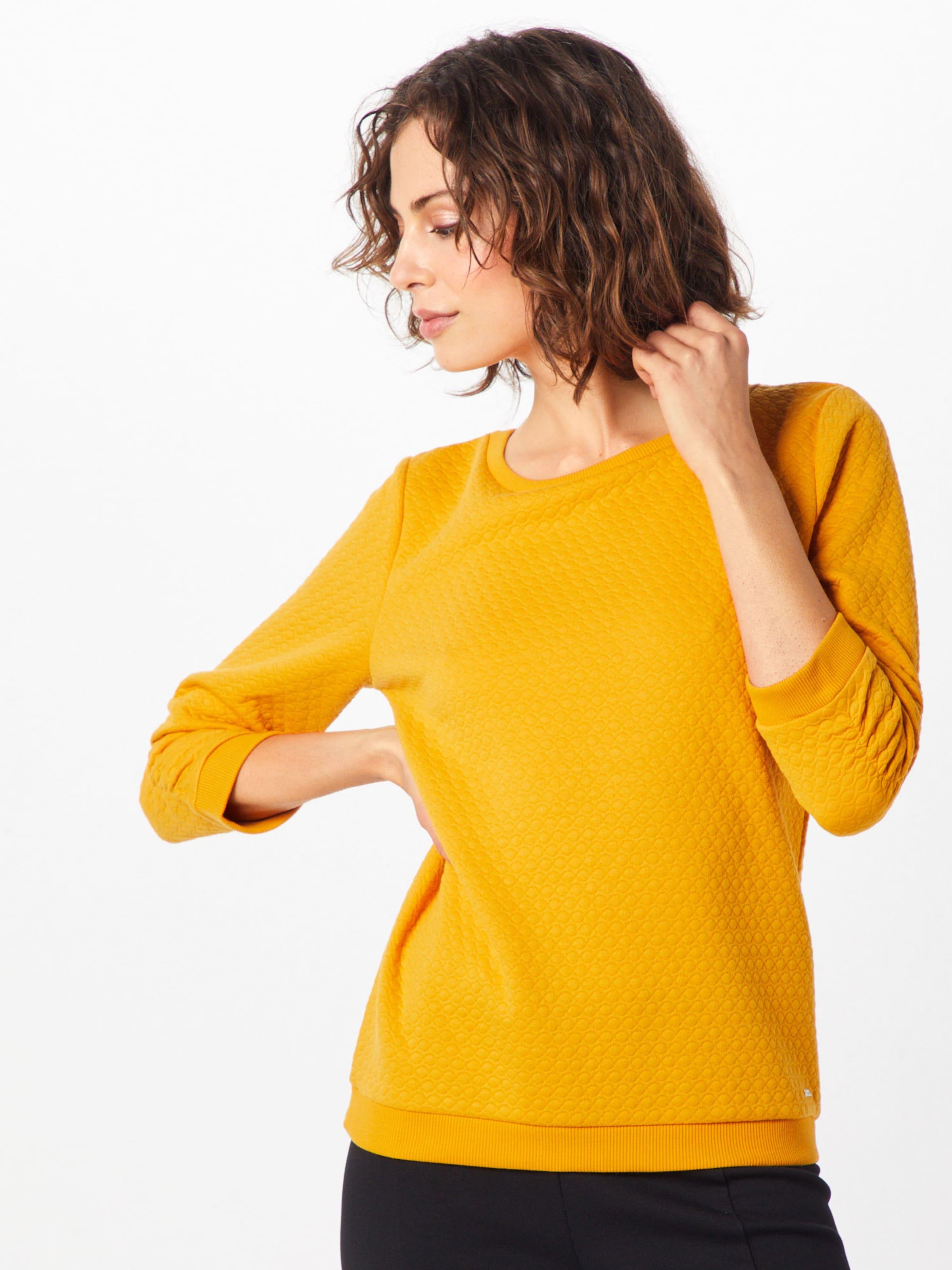 Denim Tom Tailor Senf Sweatshirt In O80kZNwXnP