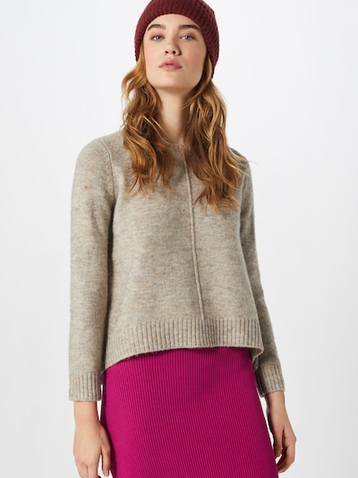 ONLY Pullover in taupe, Modelansicht