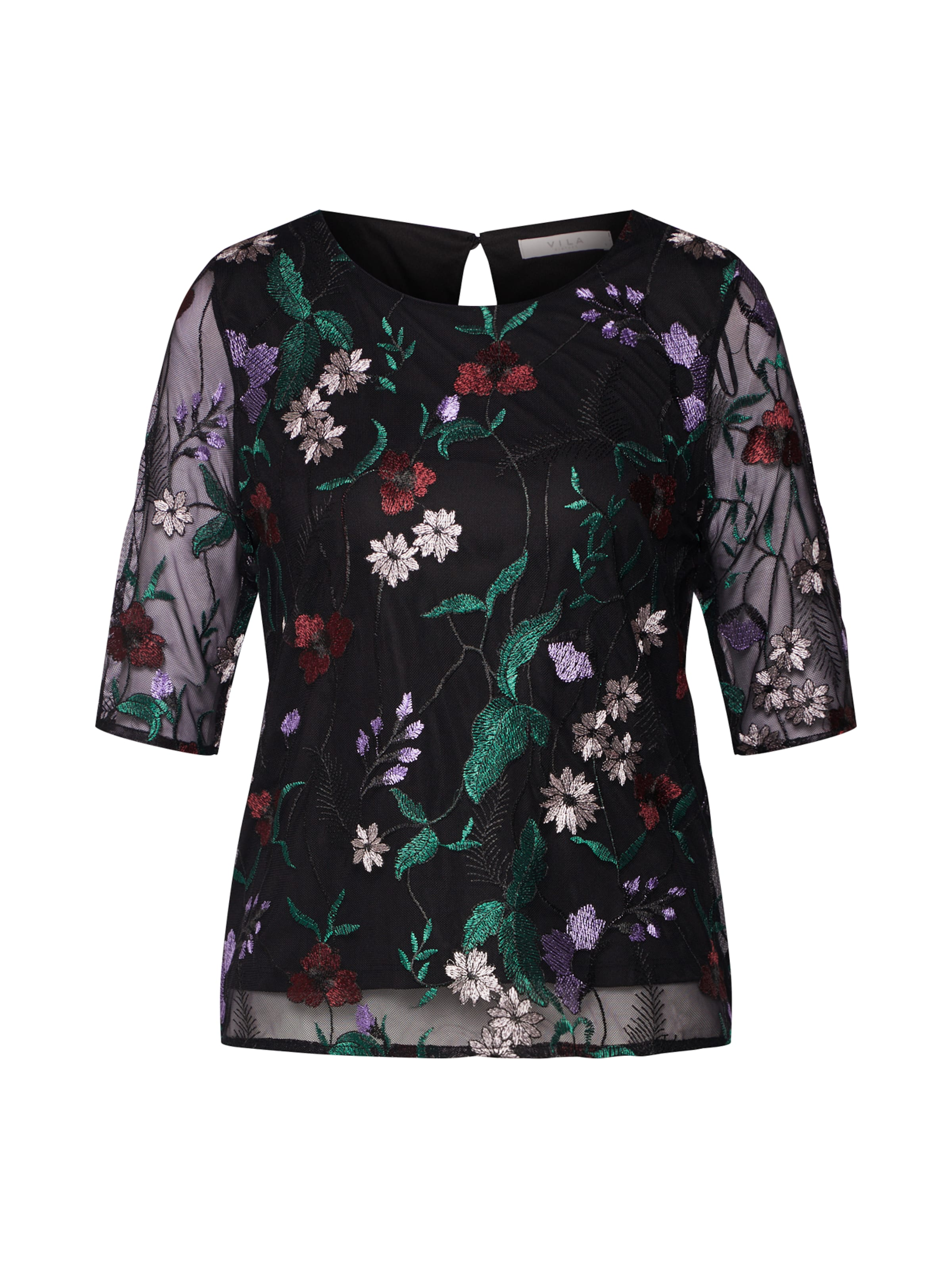shirt shirt Vila En T Noir Vila T erdoCxB