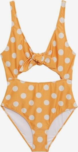 VIOLETA by Mango Badeanzug in gelb, Produktansicht