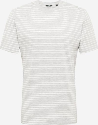 Only & Sons T-Shirt 'Mick Life' en gris clair / blanc, Vue avec produit