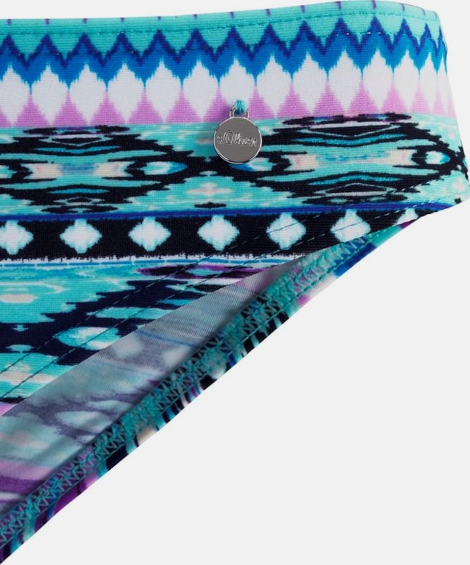 S.Oliver rot LABEL LABEL LABEL Bügel-Bikini in blau   lila  Neu in diesem Quartal bbeb03