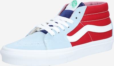 VANS Sneaker 'UA SK8-Mid' in hellblau / rot, Produktansicht
