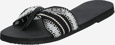 HAVAIANAS Japonke 'ST. TROPEZ FITA' | črna barva, Prikaz izdelka