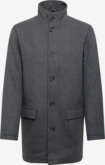 Lindbergh Manteau mi-saison en gris foncé, Vue avec produit