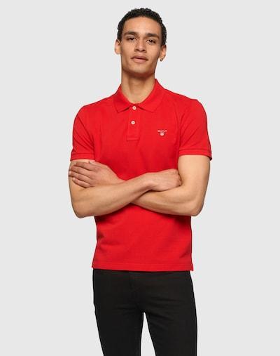 GANT Majica u crvena: Prednji pogled