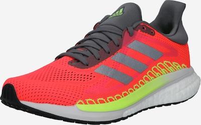 ADIDAS PERFORMANCE Sportschuhe 'SOLAR GLIDE ST 3' in neongelb / pink / rot / silber, Produktansicht