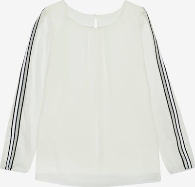 STACCATO Bluse in schwarz / silber / weiß, Produktansicht