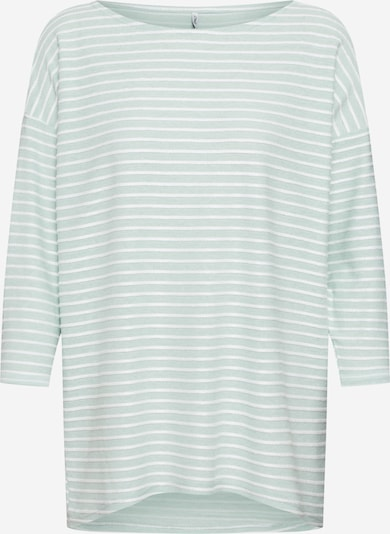 ONLY Shirt 'ELLY' in mint / weiß, Produktansicht