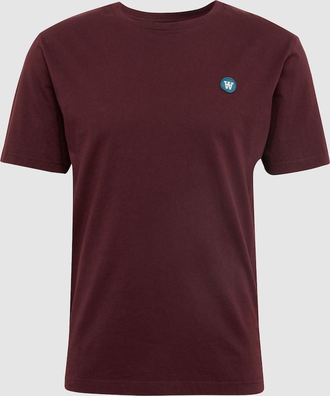 WOOD WOOD Shirt in burgunder  Neuer Aktionsrabatt