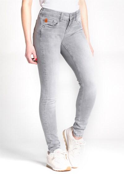 Miracle of Denim Jeans 'Ellen' in grau, Modelansicht