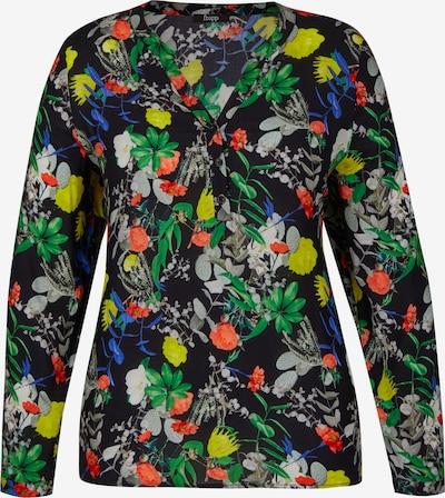 FRAPP Bluse in mischfarben / schwarz, Produktansicht