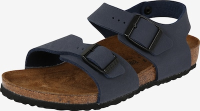 BIRKENSTOCK Vaļējas kurpes 'New York Kids BF' pieejami tumši zils, Preces skats