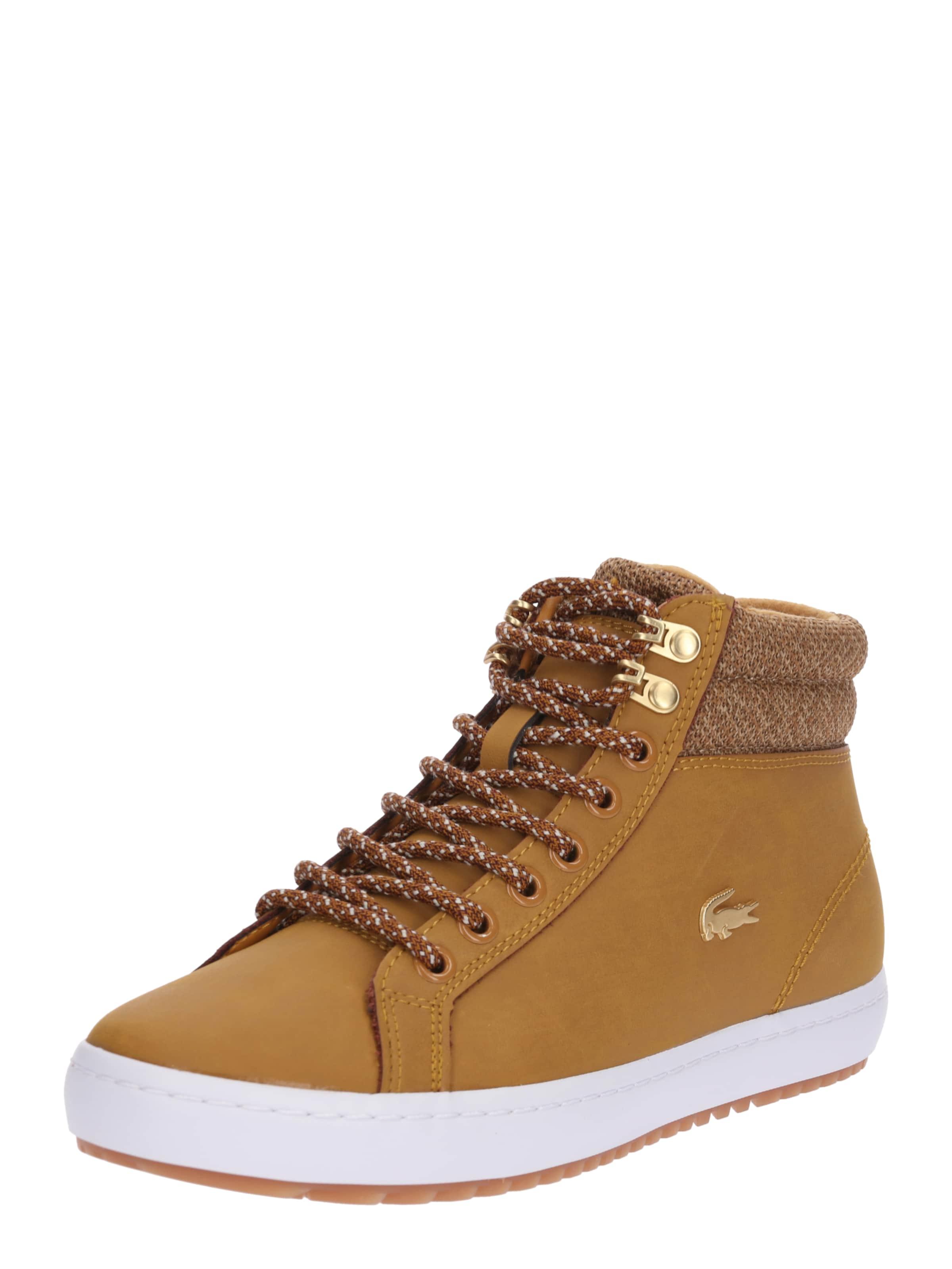 Lacoste 'straightset' Lacoste Sneaker 'straightset' In In SenfWeiß Sneaker 8wPnk0O