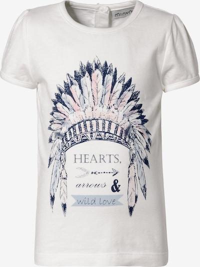 MINYMO Shirt in mischfarben / weiß, Produktansicht