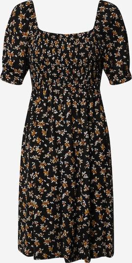 Boohoo Kleid 'SHIRRED FLORAL MINI DRESS' in schwarz, Produktansicht