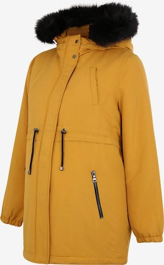 MAMALICIOUS Umstandsjacke in goldgelb / schwarz, Produktansicht