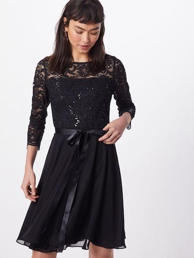 SWING Kleid in schwarz, Modelansicht