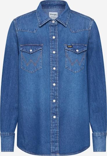 WRANGLER Jeanshemd '27WW 1YEAR' in blau, Produktansicht