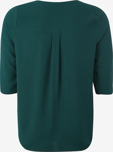 ABOUT YOU Curvy Bluse 'Emmi' in smaragd: Rückansicht