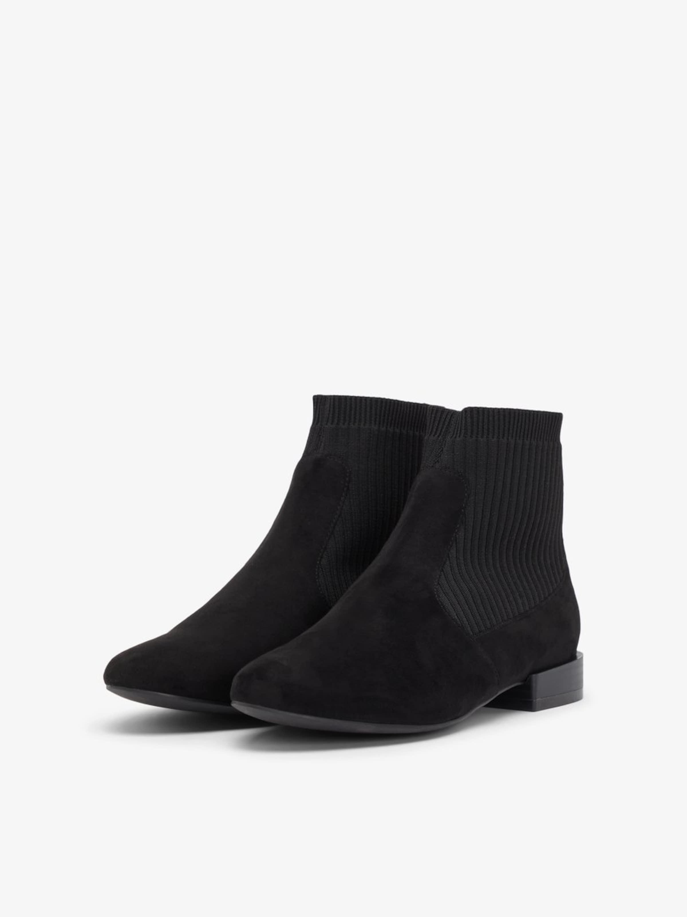 'anne' Boots Bianco Chelsea Gris En BasalteNoir SpUMqzVG