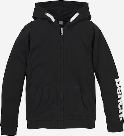 BENCH Jacke in schwarz / weiß, Produktansicht