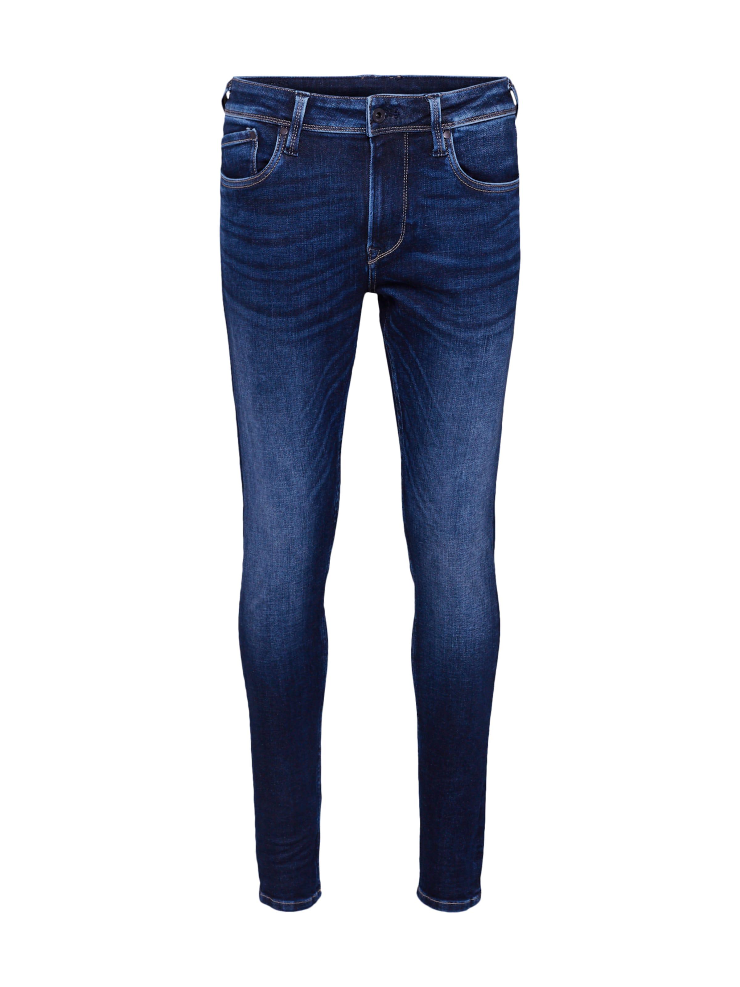 Jean Pepe 'finsbury' Bleu Denim Jeans En xrCBWedo