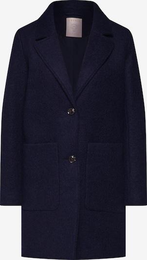 Rudeninis-žieminis paltas 'Knitted Wool' iš EDC BY ESPRIT , spalva - tamsiai mėlyna: Vaizdas iš priekio