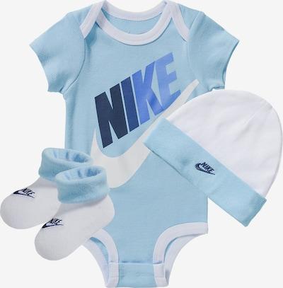 Nike Sportswear Set 'Futura Multi' in blau / hellblau / weiß, Produktansicht