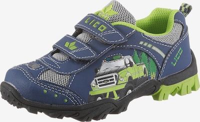 LICO Schuhe  'Monstertruck' in navy / neongrün, Produktansicht