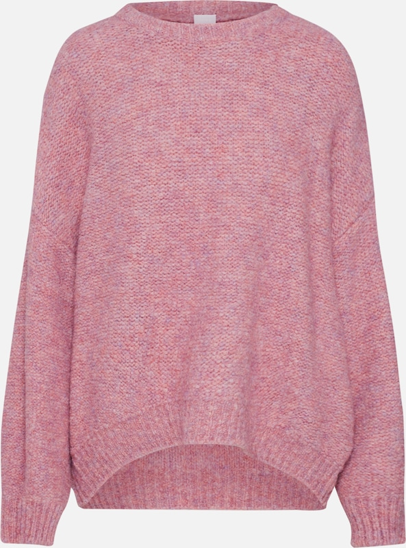 BOSS Pullover in pink: Frontalansicht