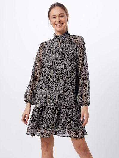 VERO MODA Sukienka koszulowa w kolorze beżowy / czarnym, Podgląd na modelu(-ce)