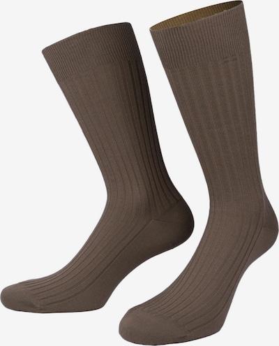 PATRON SOCKS Socken 'Eigelstein Gift Box' in beige / braun / taupe, Produktansicht