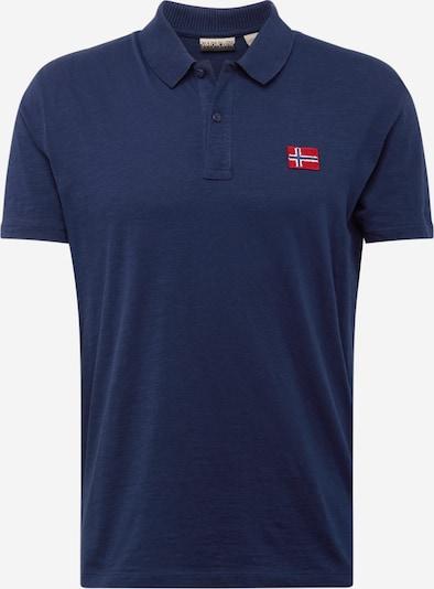 NAPAPIJRI Shirt 'Entebe' in dunkelblau, Produktansicht