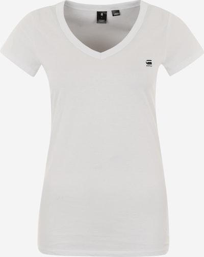 G-Star RAW T-shirt 'Eyben' en noir / blanc, Vue avec produit