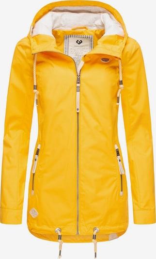 Ragwear Jacke 'Zuzka' in gelb, Produktansicht