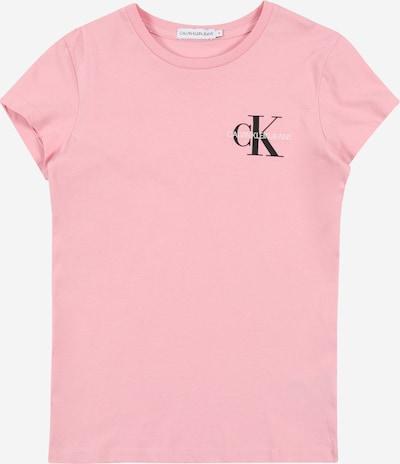Calvin Klein Jeans Koszulka w kolorze różowy pudrowy / czarny / białym, Podgląd produktu