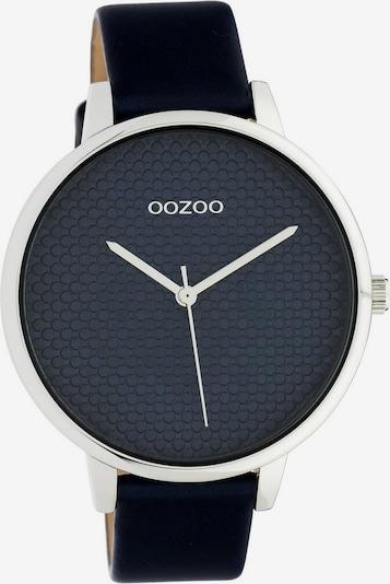OOZOO Uhr 'C10594' in dunkelblau / silber, Produktansicht