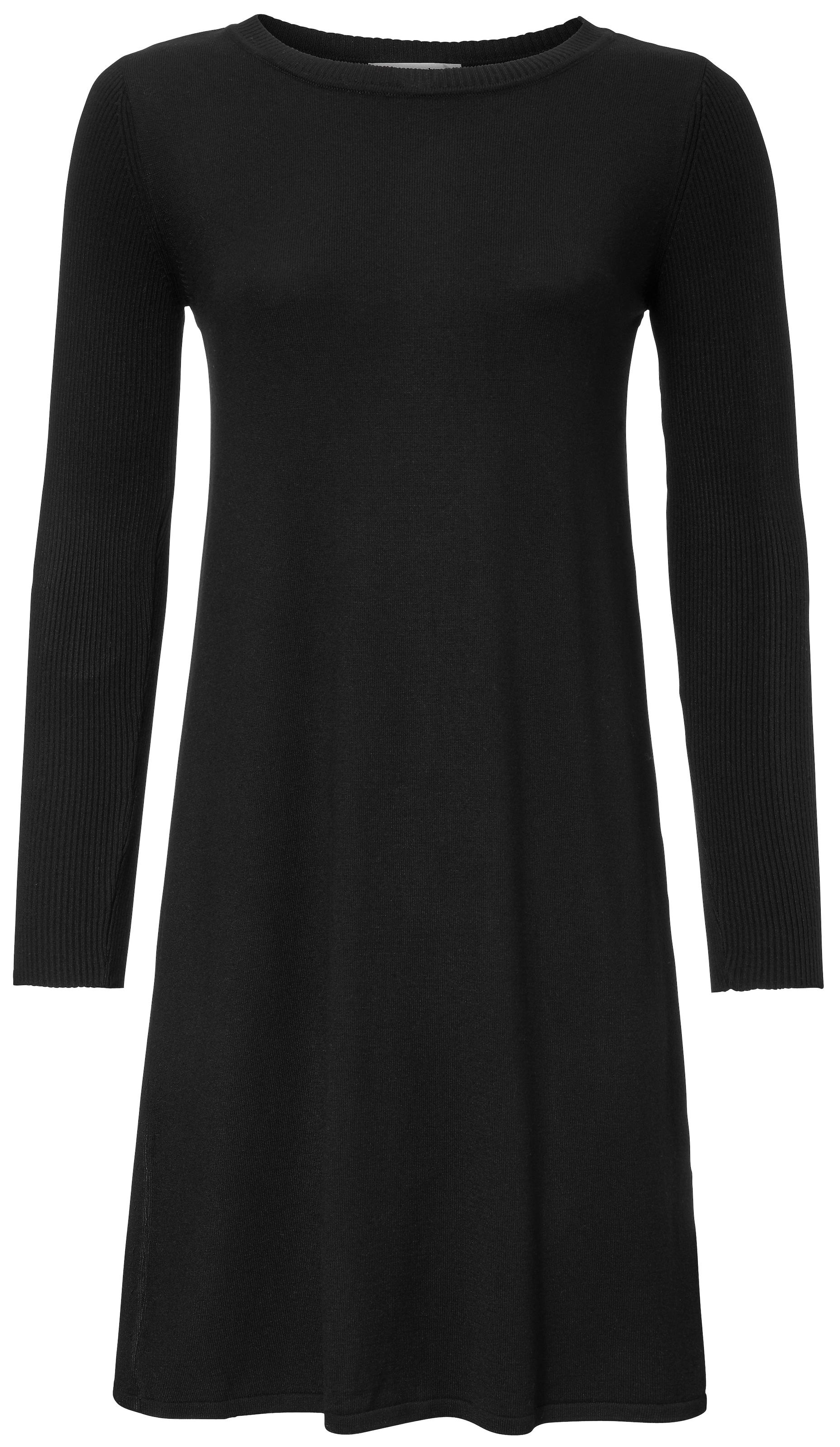 heine Kötött ruhák fekete színben