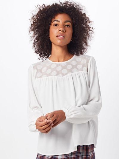 ONLY Bluse 'ONLMAY DOT' in weiß, Modelansicht