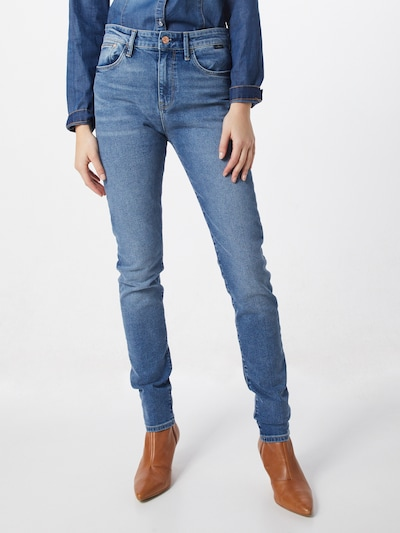 Mavi Jeans in blue denim, Modelansicht
