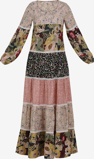 Usha Robe en mélange de couleurs, Vue avec produit