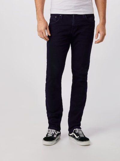 SHINE ORIGINAL Jeans in dunkelblau, Modelansicht