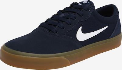 Nike SB Baskets basses 'Chron' en bleu marine / blanc, Vue avec produit