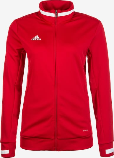 ADIDAS PERFORMANCE Trainingsjacke 'Team 19' in rot / weiß, Produktansicht